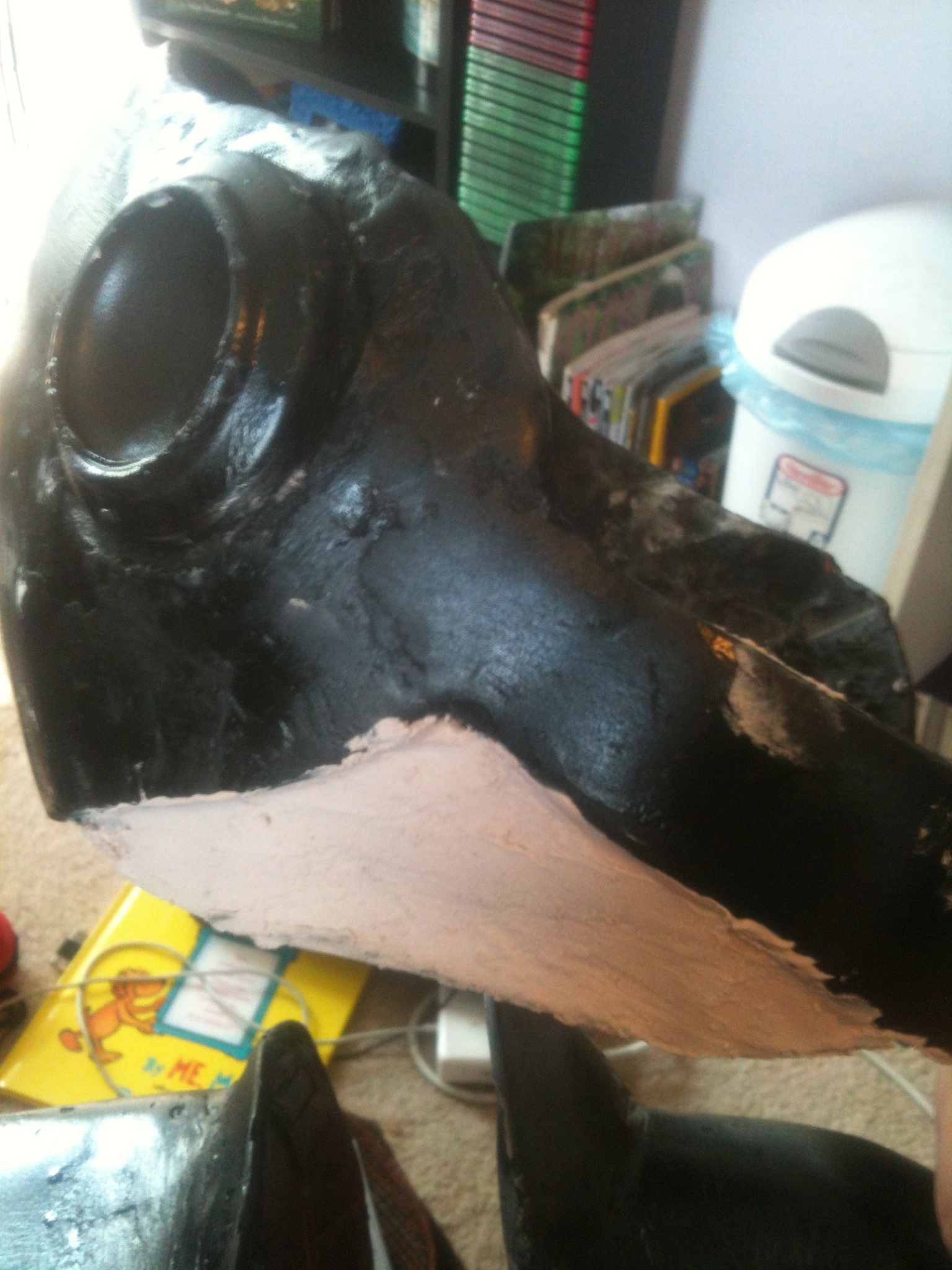 Picture of Bondo and Sanding...