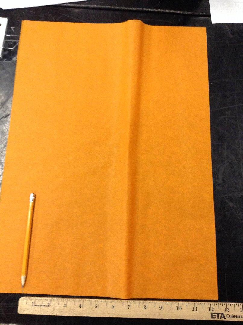 Picture of Orange Paper