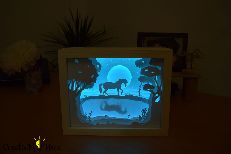 Picture of Turn Your Light Box on and Admire the Amazing Result!