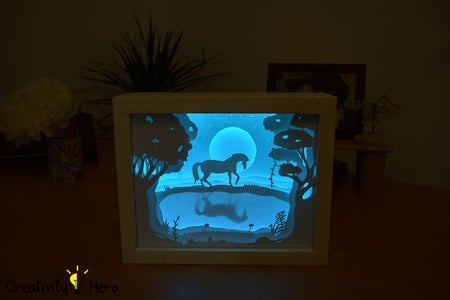 Turn Your Light Box on and Admire the Amazing Result!