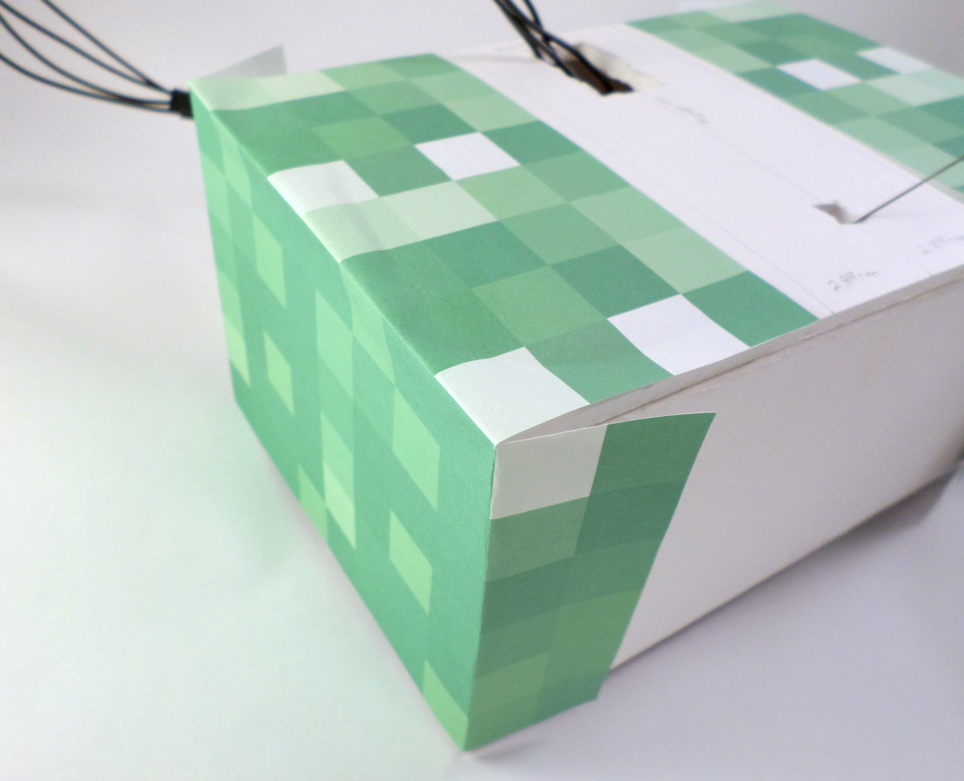 Picture of Putting the Creeper Skin on the Feet