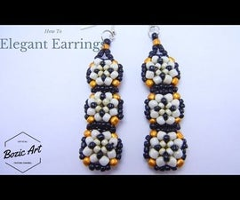 Elegant Earrings | Beading Tutorial