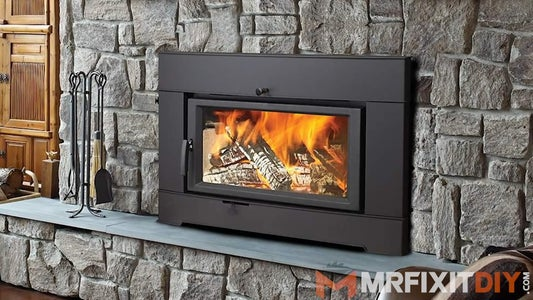 Replace Fireplace With Wood Stove