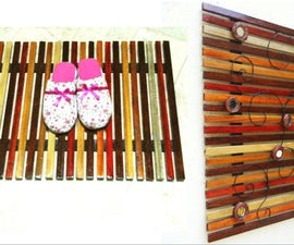 Easy Wooden Slat Mat /Wall Art