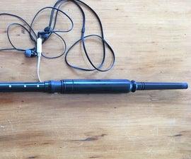 Practice Chanter Adapter for Fagerstrom Technopipes / Technochanter