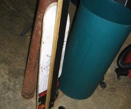 Make a Custom Downhill Skateboard
