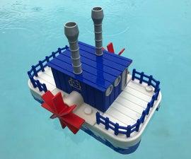 WiFi Paddle Boat.