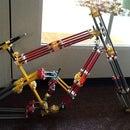 Full suspension knex mountain bike frame