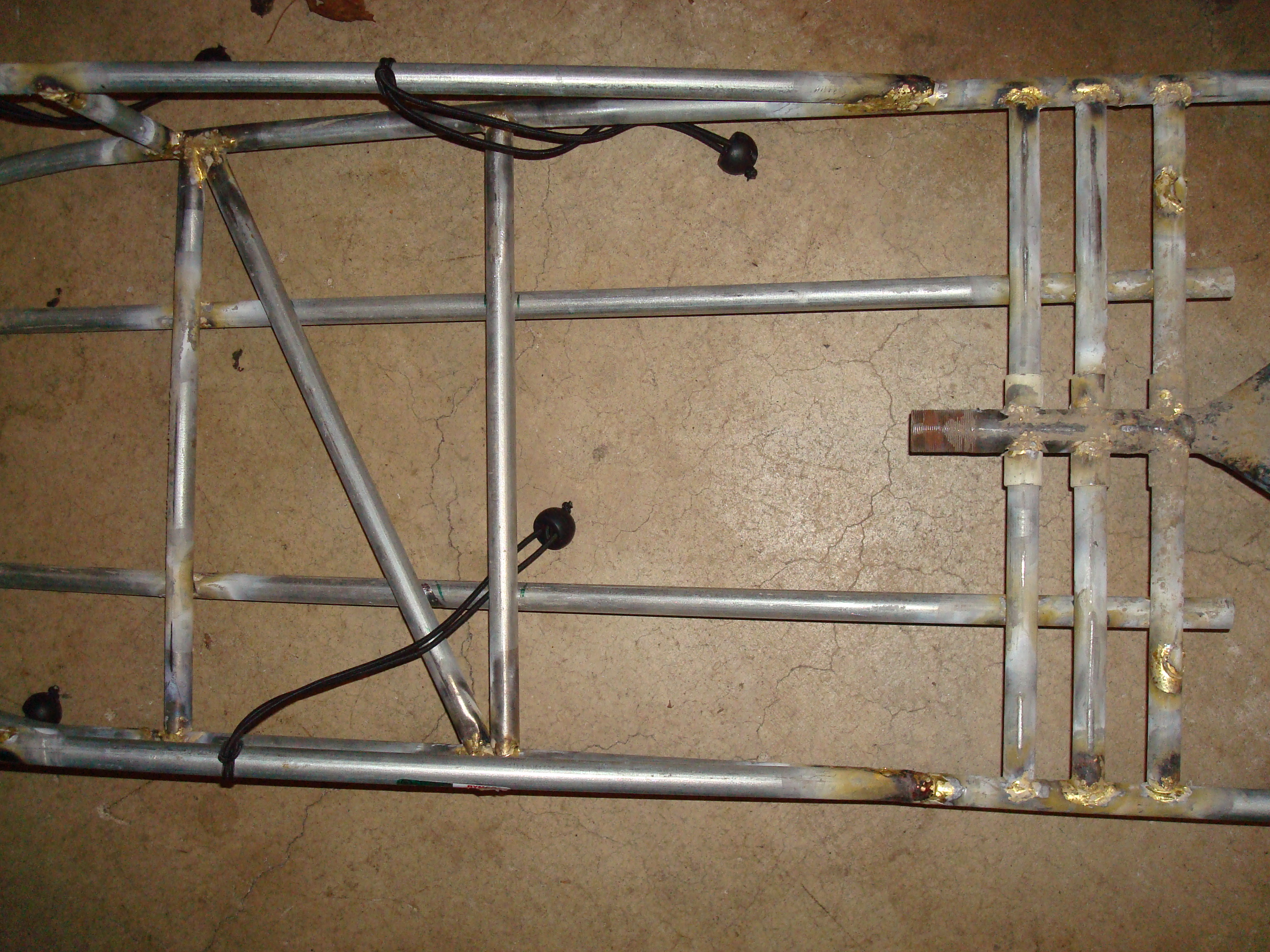 Picture of Bottom Braces and Wheel Guard