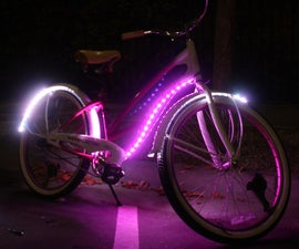 Pink Molly Lighted Cruiser Bike