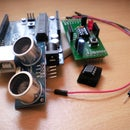 Ultrasonic Range Finder with an ATtiny85 (With Shield)