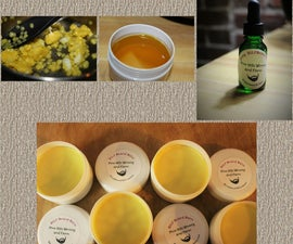 Beard Balm & Oil - Homemade Holiday Gifts