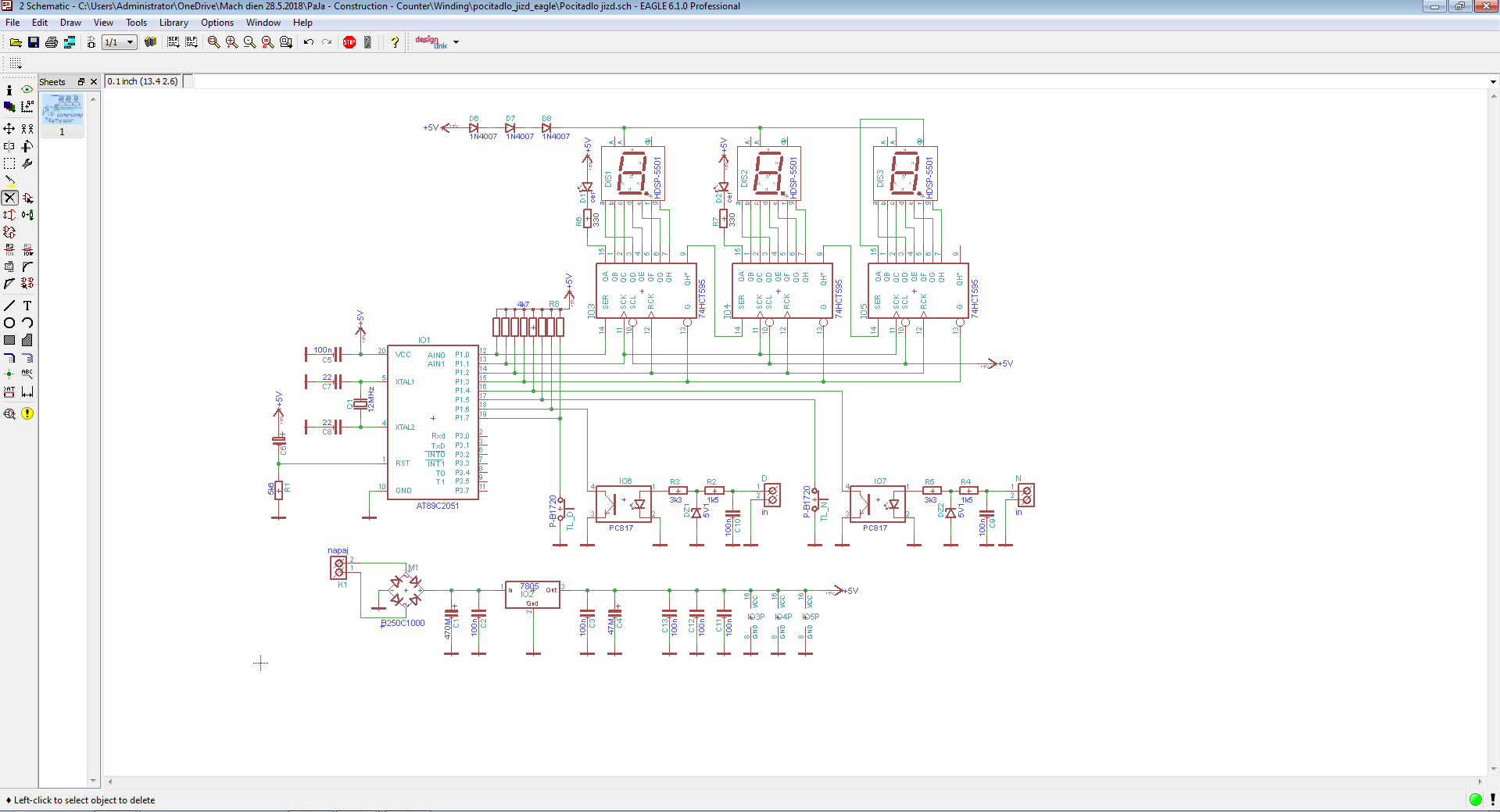 Picture of Make the Schematic and PCB