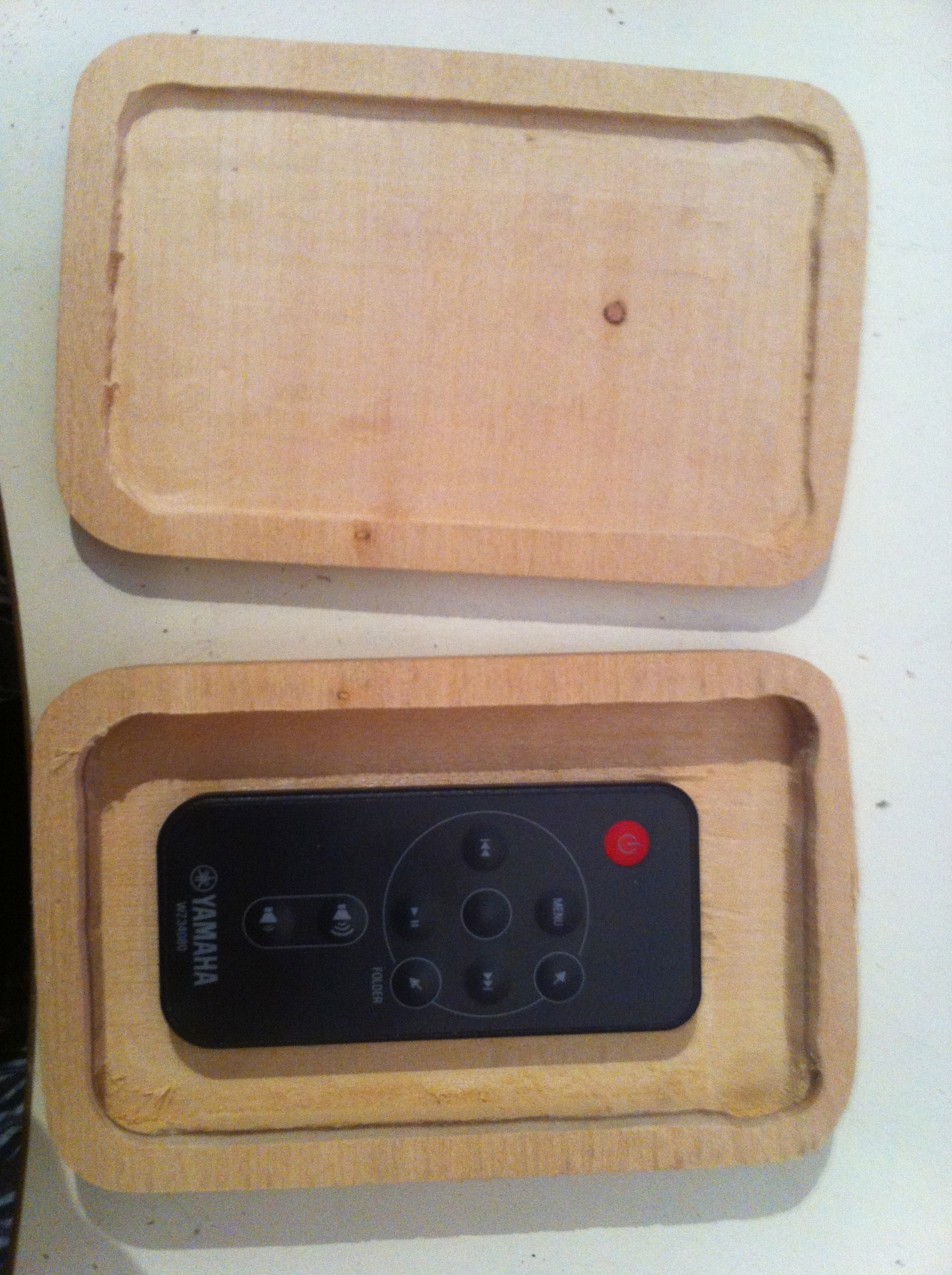 Picture of Remote Fits Comfortably Inside Box