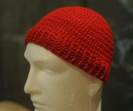 How to Crochet a Simple Adult Beanie