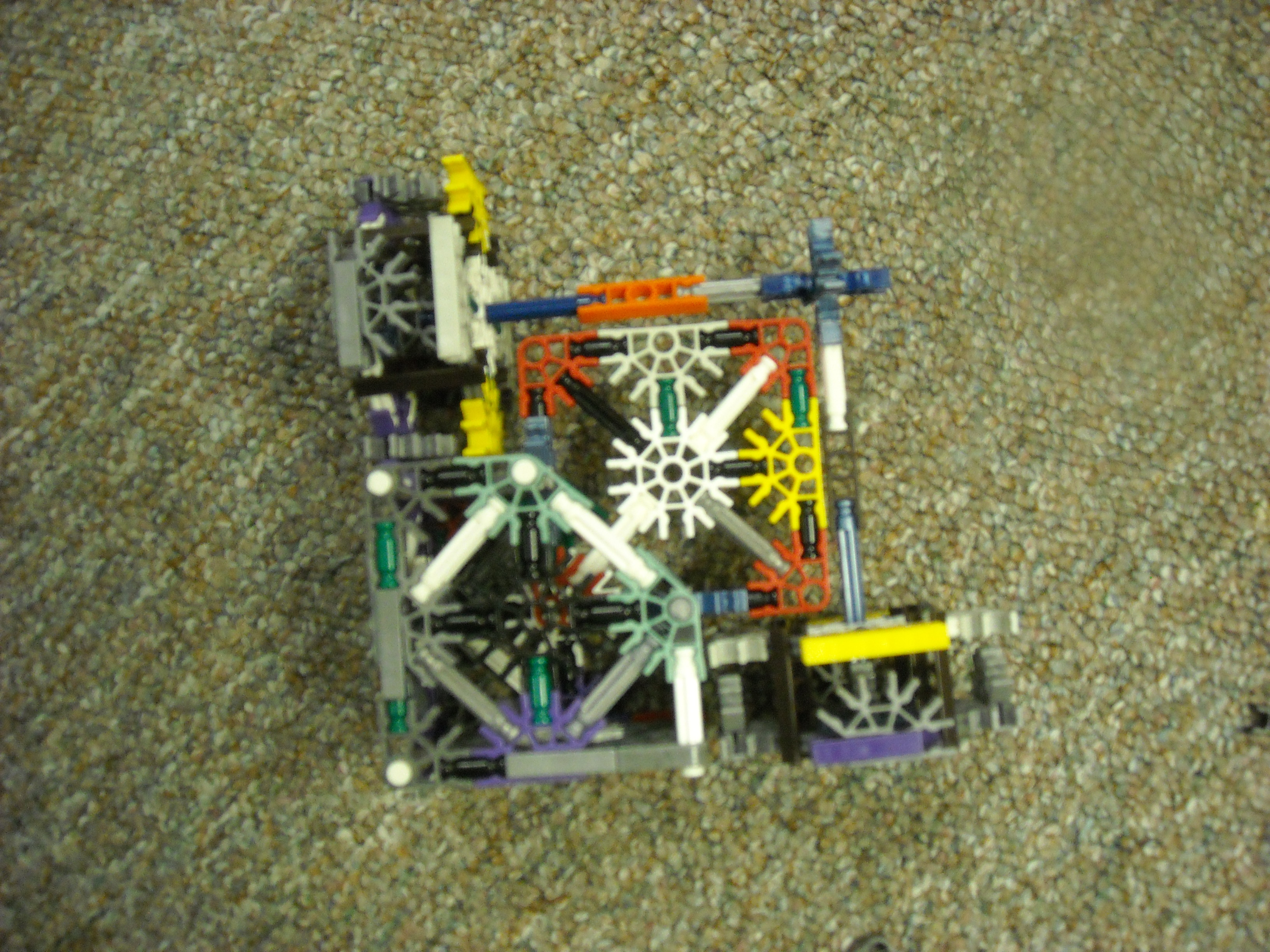 Picture of Knex Rubixs Cube