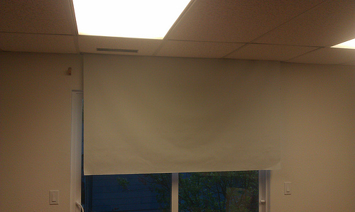 Picture of Android & Arduino Controlled Projector Screen