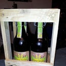 Used Looking Beer-Crate Made of Pallets.