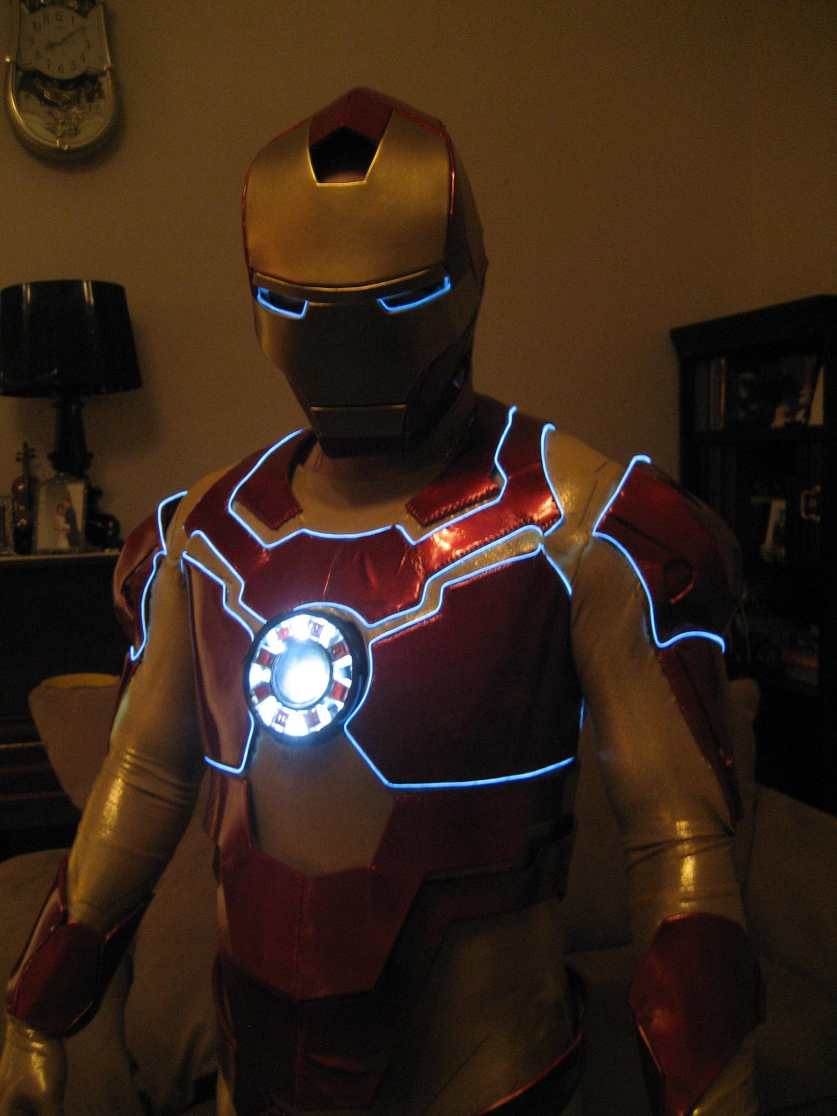 Как сделать костюм железного человека настоящий6
