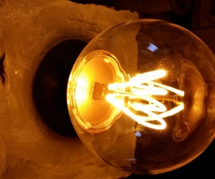 Concrete Lamp - This Was a Failure