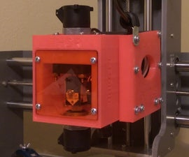 Add Laser Etching Capabilities To A CnC Mill