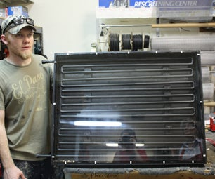 Solar Water Heater: Part 1- The Collector