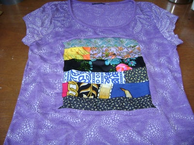 Quilted Patchwork Tee
