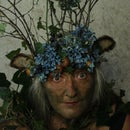 Woodland Spirit Twig Crown With Fawn Ears
