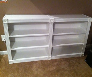 Upgrading a Cheap Bookshelf