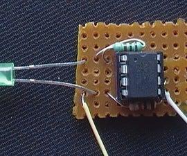 Light Sensing LED - PICAXE Version
