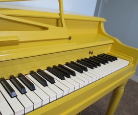 How to Paint Your Piano!