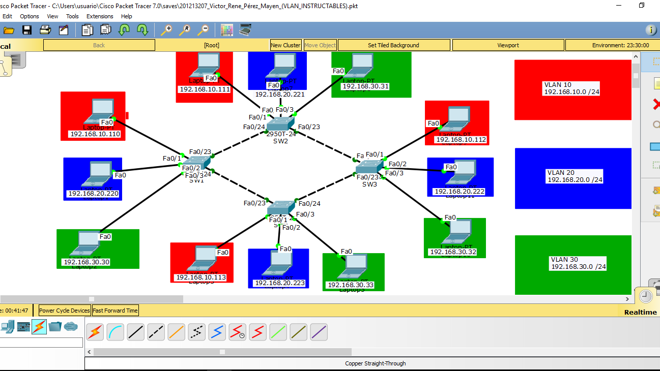 Picture of Configure the IP Address and Subnet Mask