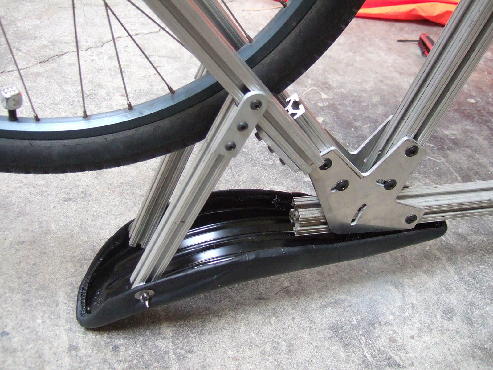Picture of Mount the Seat Braces