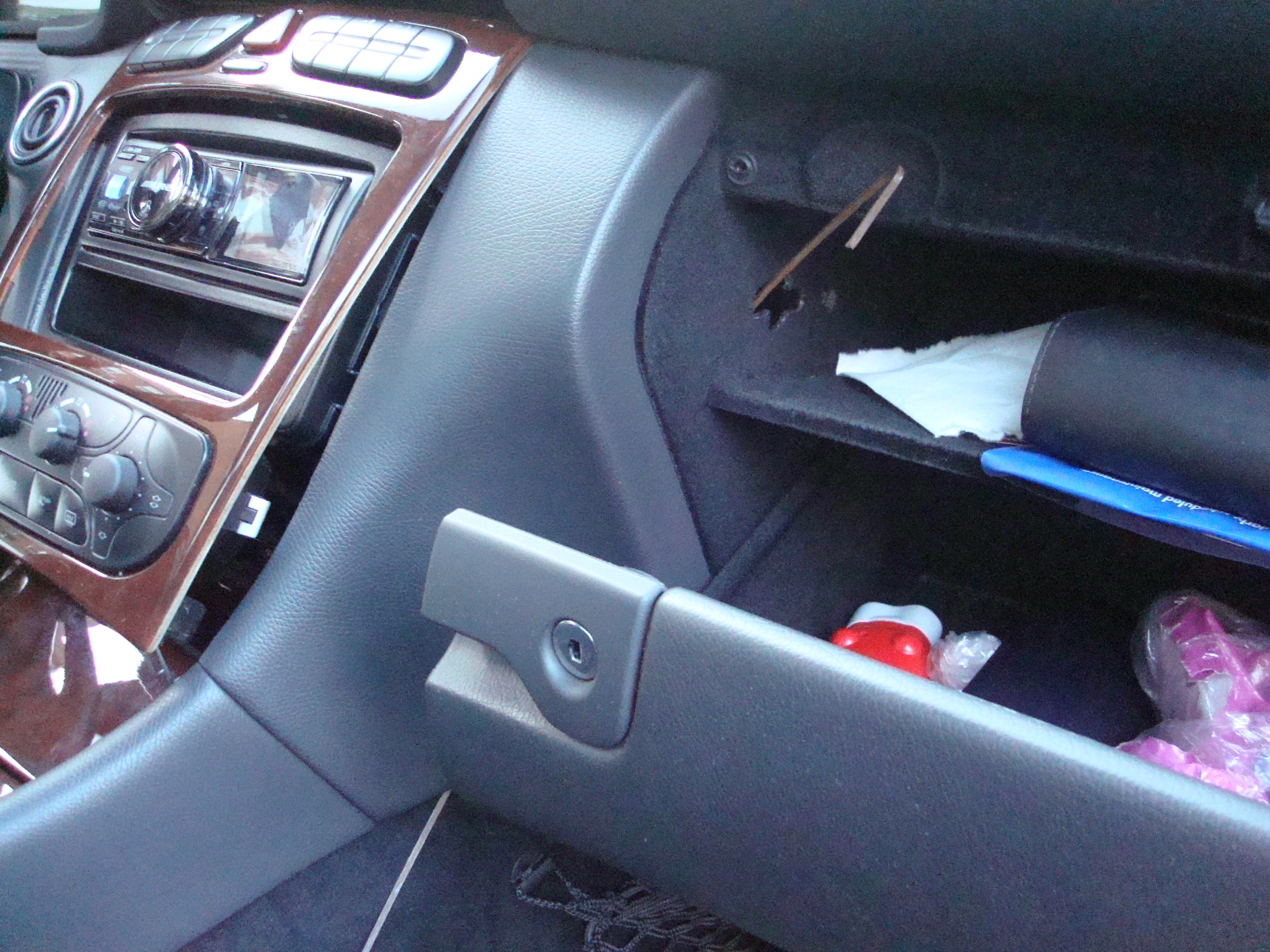 Picture of Run Charger Cable to Dash