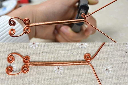 Step3: Make Patterns at the Other Wire Ends