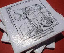 Comic coasters