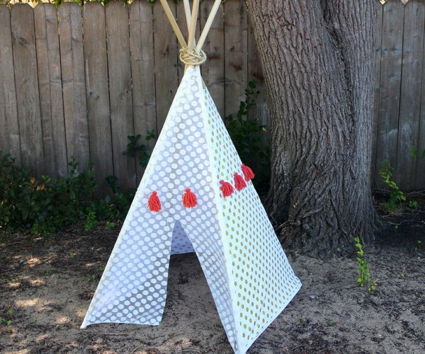 No- Sew Kid's Teepee