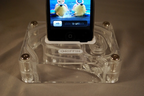 Picture of Has anyone thought about making their own aircurve (by Griffin) for boosting ipod/iphone sound?