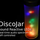 DiscoJar: Sound Reactive Lamp With 288 RGB LEDs