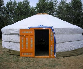 Build yourself a portable home - a mongolian yurt