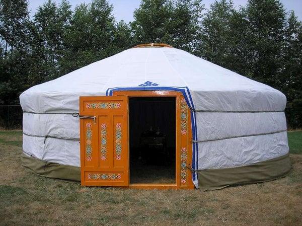 Build Yourself a Portable Home - a Mongolian Yurt