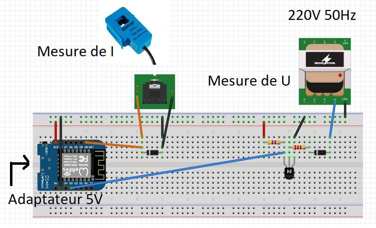 Picture of WeMos Power Meter Under 30$