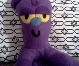 How to make a Mr.Octi plush from the Powerpuff Girls