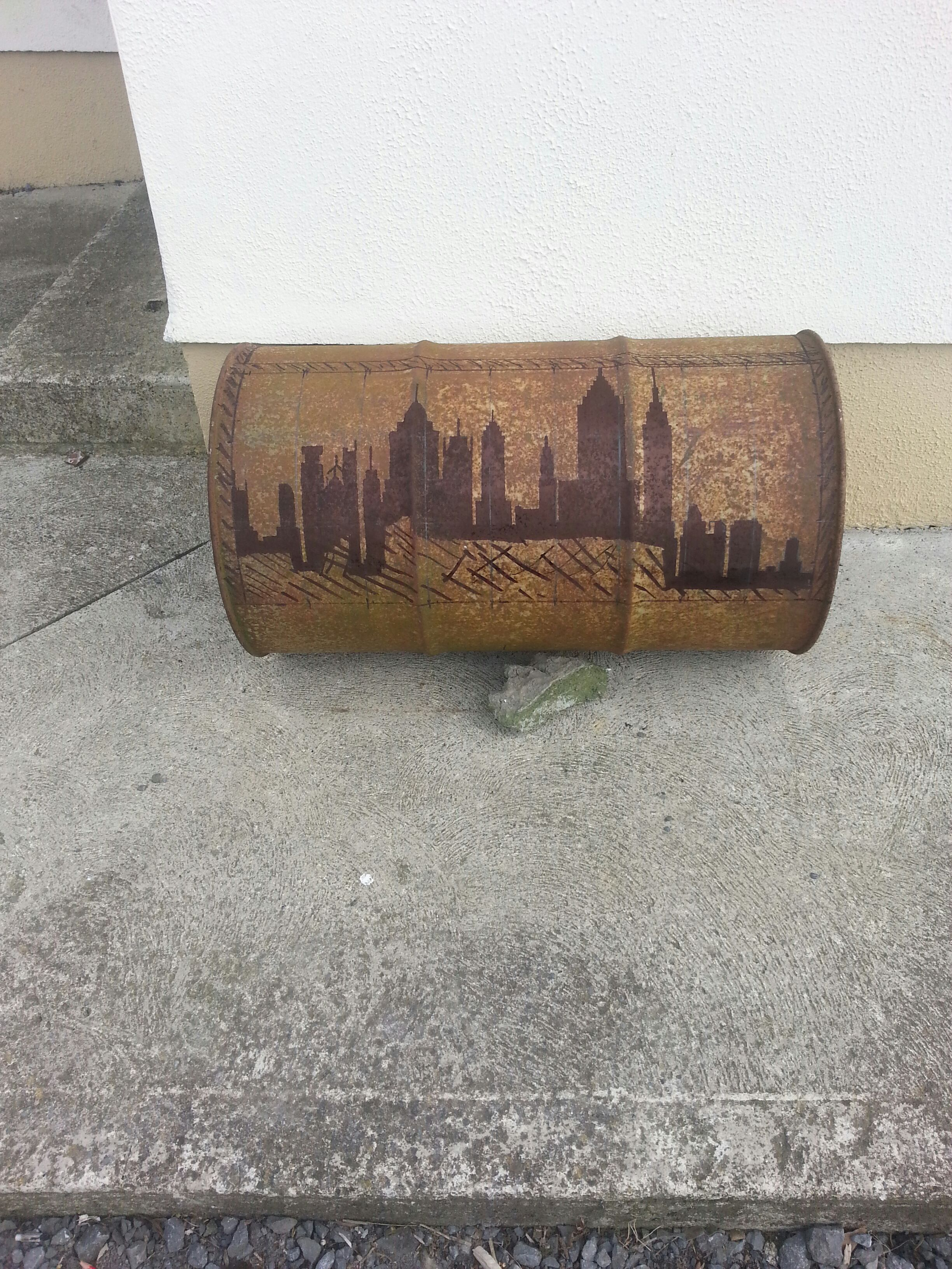 Picture of Drawing on the Skyline.