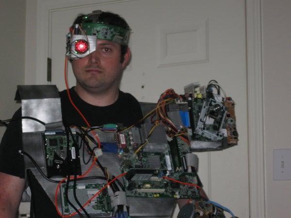 Awesome & Cheap Cyborg Costume