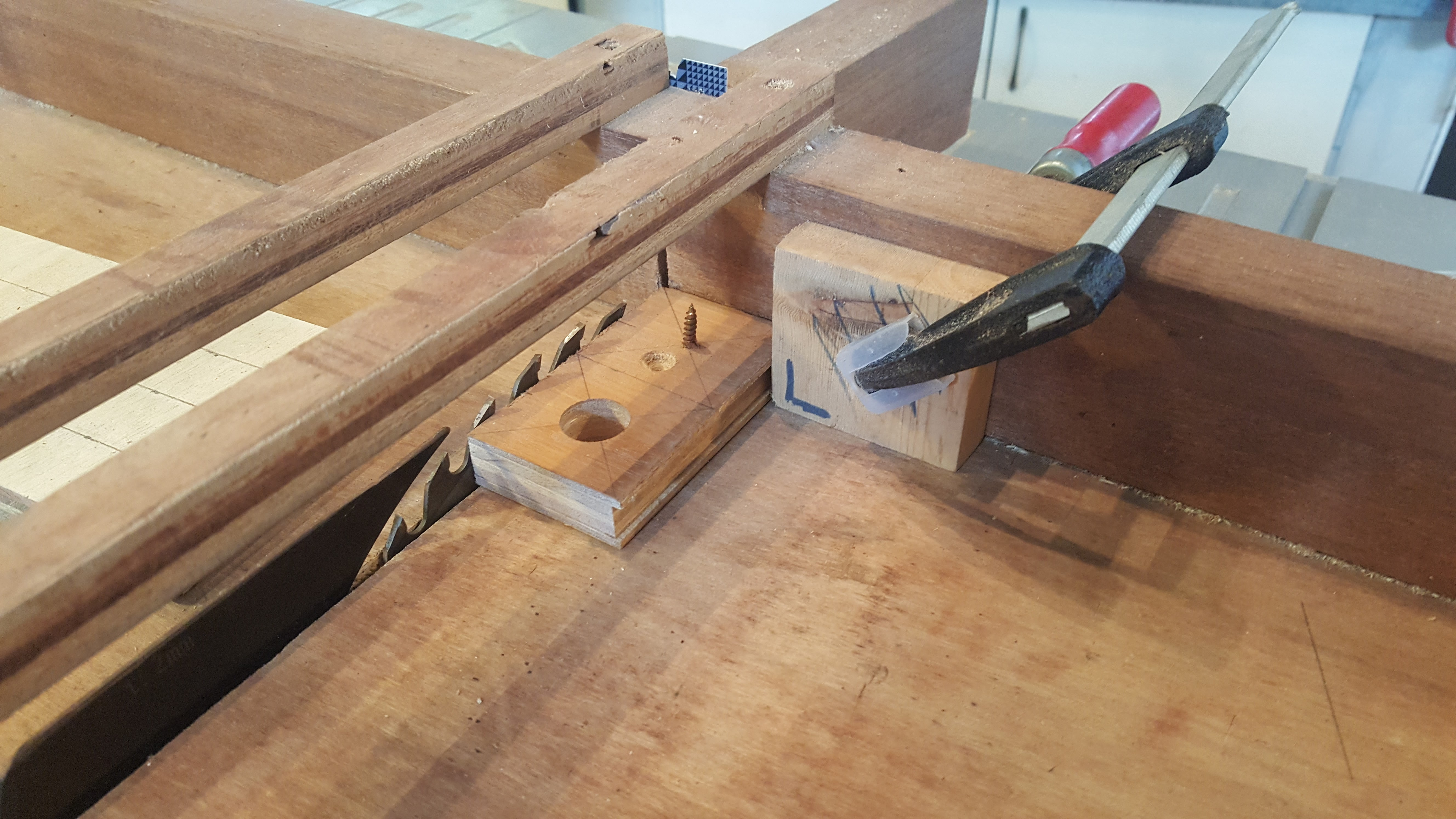 Picture of Cut the Blanks and Drill Holes
