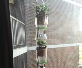 Automated window farm