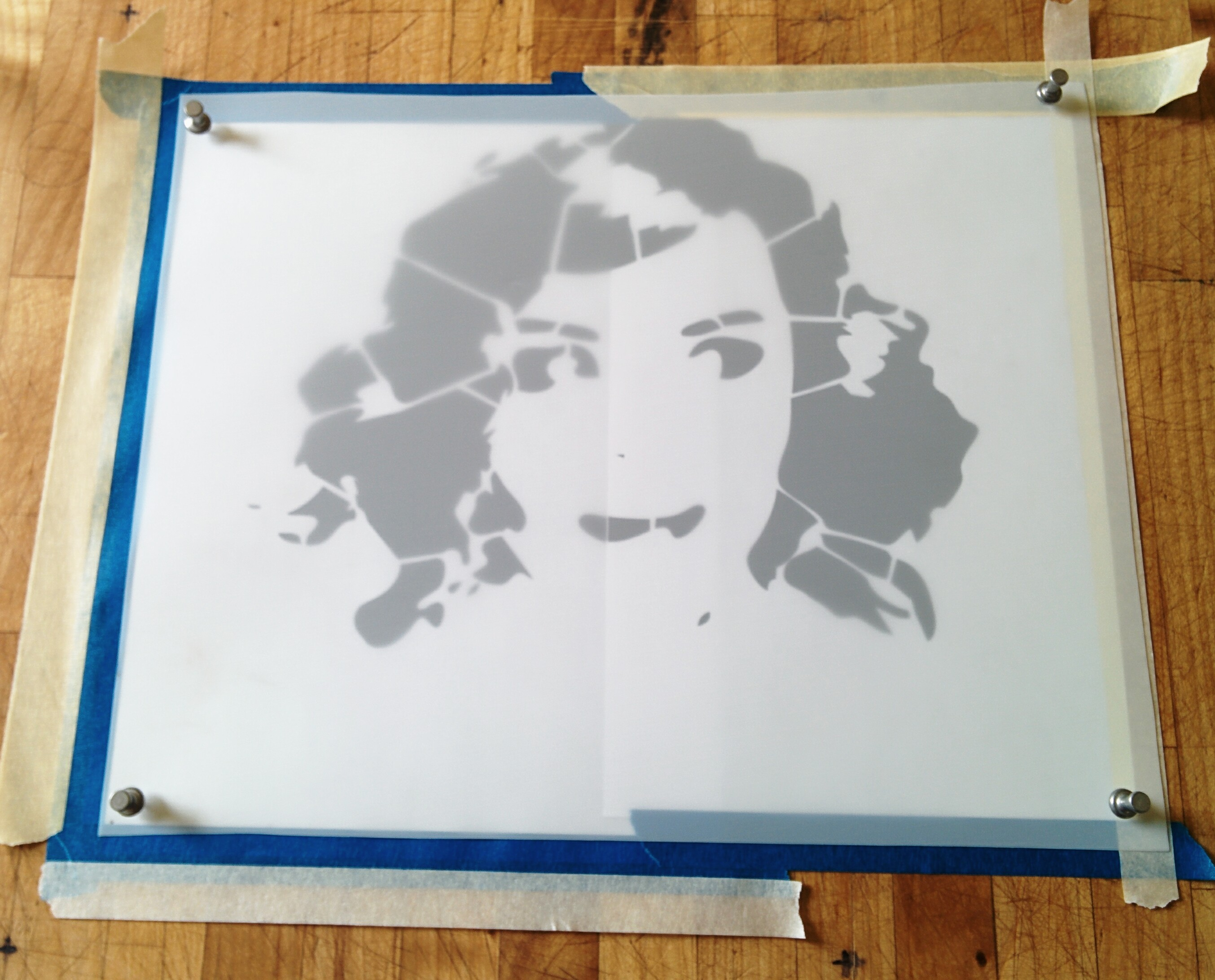 Picture of Lay Out Print for Cutting