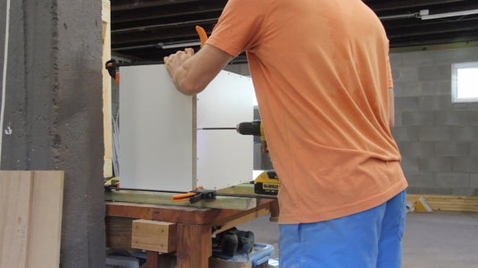 Building the Dust Collection Box