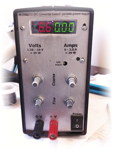 Picture of Variable Lab Power Supply (1 - 24 V, 0 - 1 A)